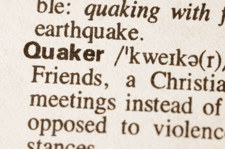 quaker: Definition of word Quaker in dictionary