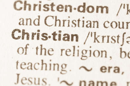 staunch: Definition of word Christian  in dictionary