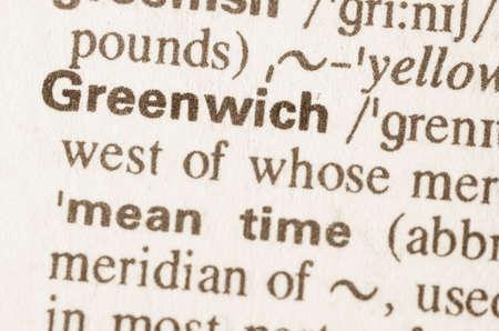 definicion: Definición de la palabra en el diccionario de Greenwich