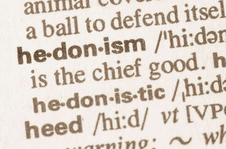 hedonism: Definition of word hedonism in dictionary
