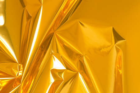 metallic: golden shiny metallic foil background