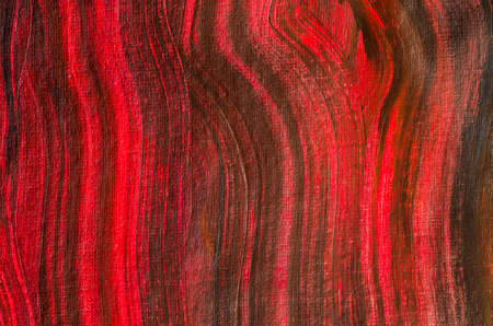 oil color: black and red painted artistic canvas  background