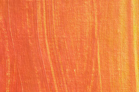 pearly: orange painted artistic canvas  background texture with pearly shimmer