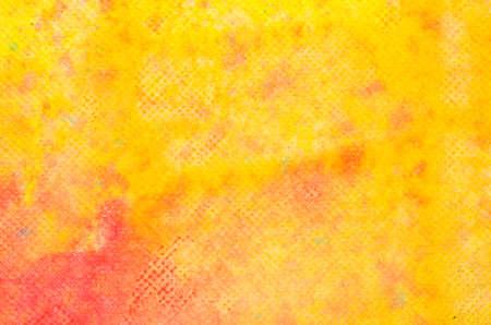 abstracte waterverf gele geschilderde textuur als achtergrond