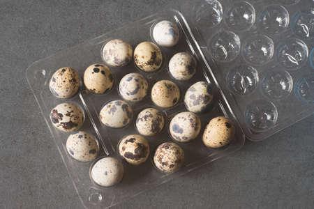 huevos codorniz: grupo de huevos de codorniz Foto de archivo