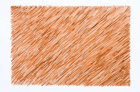 scrawl: garabatos marcadores de color marrón sobre fondo del Libro Blanco