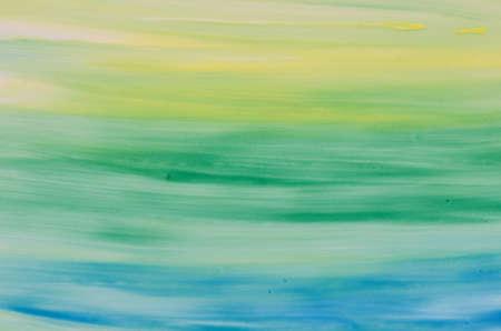 vibrant paintbrush: vibrant watercolor painted background texture Stock Photo
