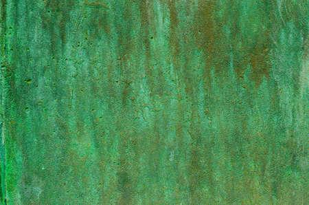 groene patina metalen textuur achtergrond
