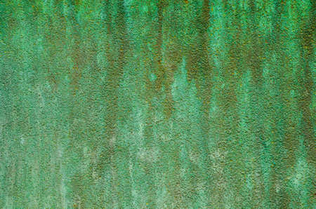 oxidized: green patina metal texture background
