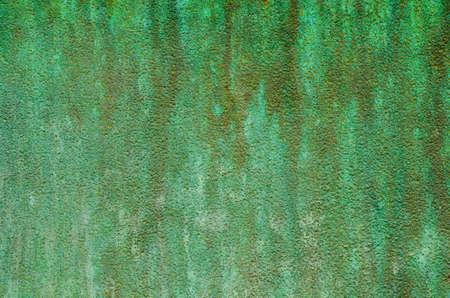 patina: green patina metal texture background
