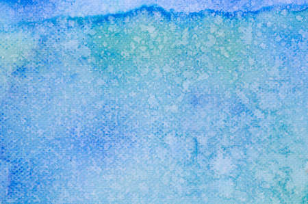 artisitc: blue watercolor painted on paper background texture