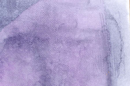 artisitc: violet  watercolor painted on paper background texture