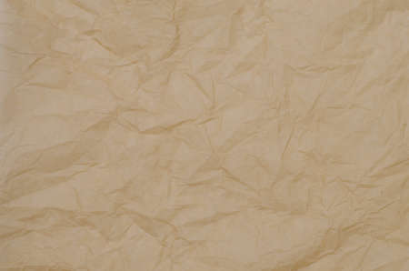 crinkled: crinkled brown paper background texture