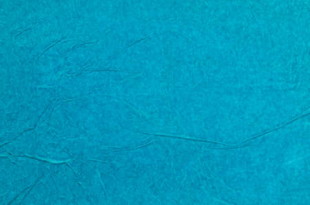 tissue paper: creased blue tissue paper background texture Stock Photo
