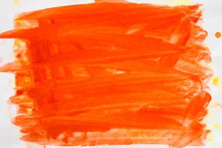 orange color painted background texture