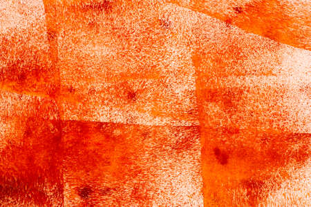orange color painted background texture