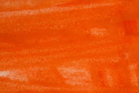 artisitc: orange color painted background texture