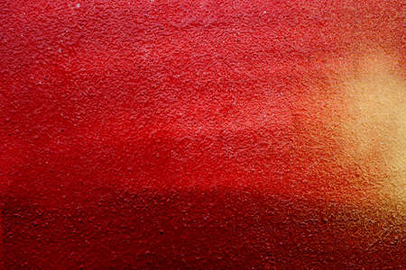 red color painted wall background texture