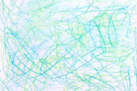 multicolored  watercolor crayon on paper background texture