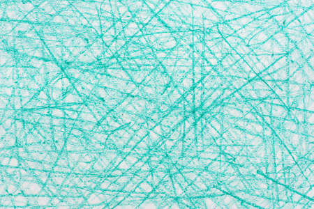turquoise color crayon doodles background texture
