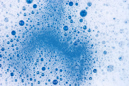 soap foam background texture closeup Standard-Bild