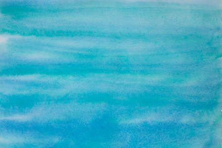 blue color  watercolor painted background texture