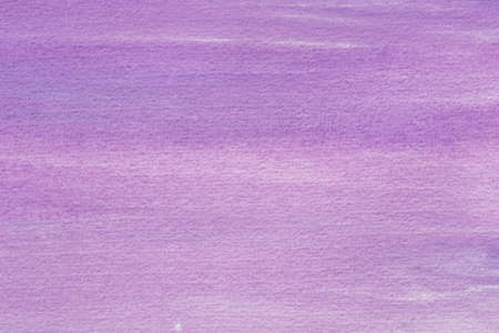 violet watercolor painted on paper background texture closeup