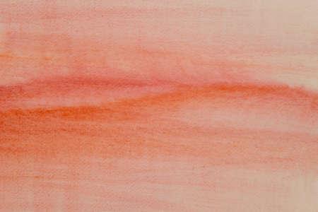 orange color watercolor painted background texture