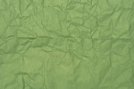 green color creased paper background texture Stock Photo