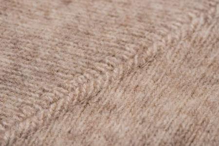 natural woolen knitwear macro selective focus