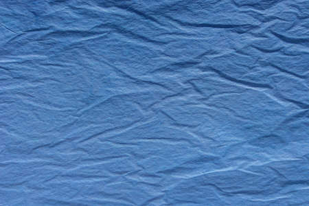 blue creased tissue papervtexture background