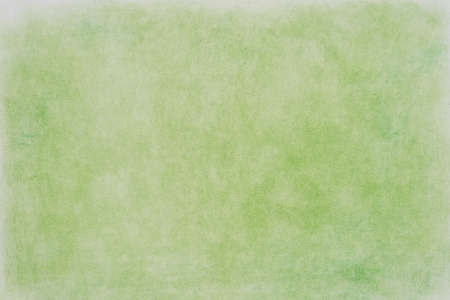 green color pastel crayon on paper background texture