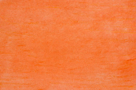 orange color pastel drawing on  paper background texture