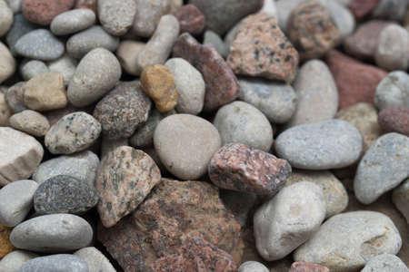 heap of small stones macro