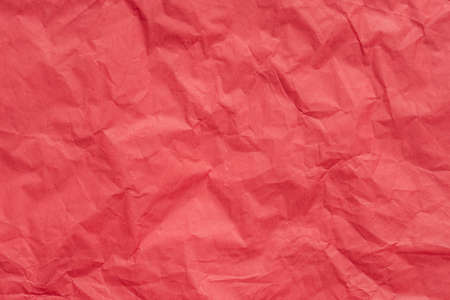 red color creased paper tissue background texture
