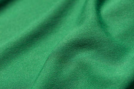 green folded textile background texture Imagens