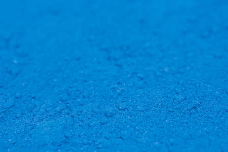 blue color powder pigment art texture background macro
