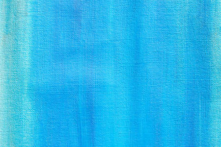 blue color background texture painted on artistic canvas