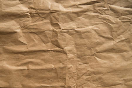 brown color creased paper texture background