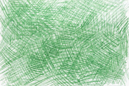 green color abstract crayon drawing paper background texture