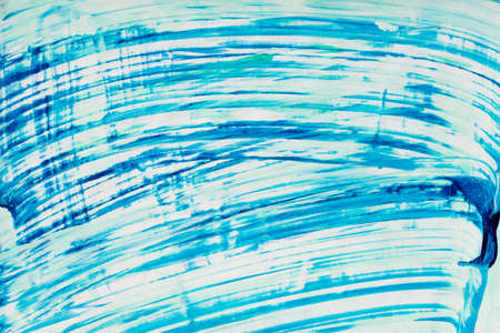 blue color watercolor stained painted background texture