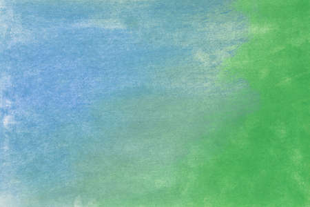 green and blue color pastel art background texture Archivio Fotografico