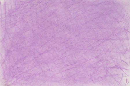 lila color pastel crayon background texture on white paper