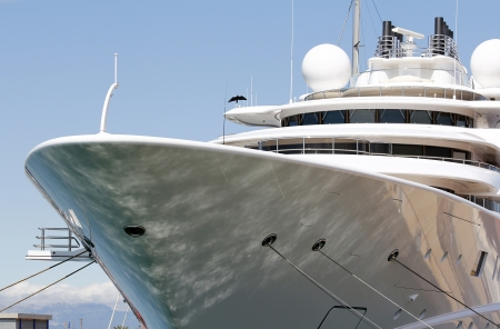Yacht de luxe Banque d'images