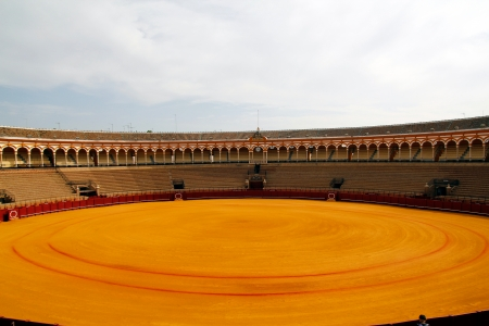 Spanish bullring, in Seville