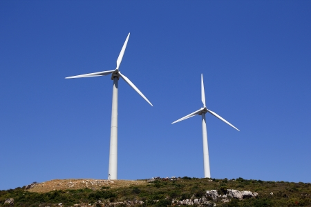 Turbine éolienne Banque d'images