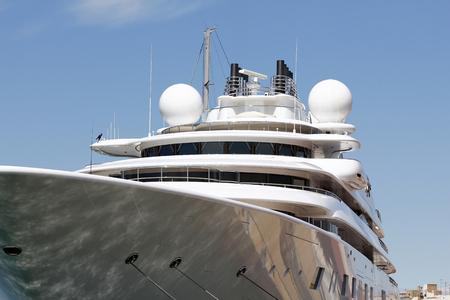 Luxury yacht Фото со стока