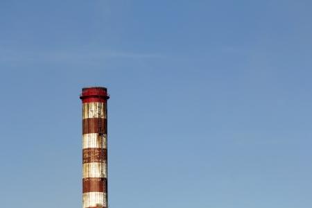 smoke stack: industrial smoke stack