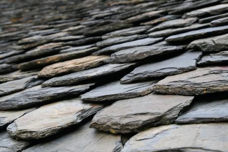 slate roof: Roof slate tiles