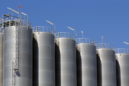 Industrial silos photo